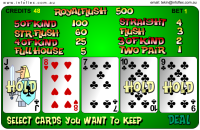Retro Flash Poker